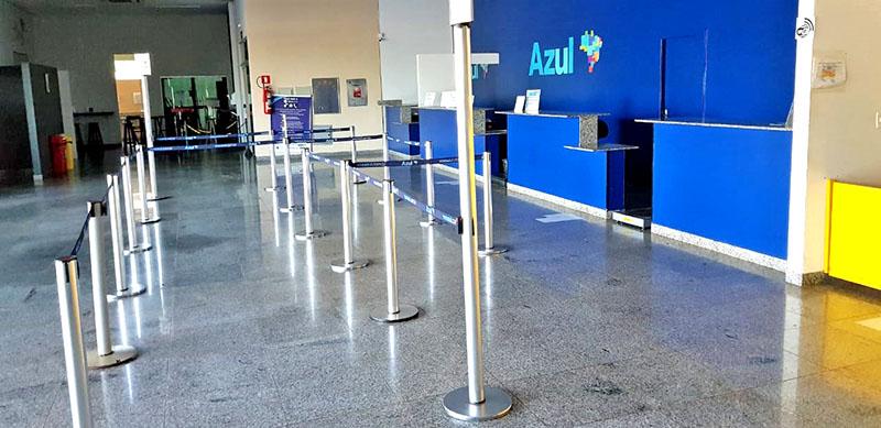 Aeroporto de Rondonópolis: Projeto para esteira de bagagem não vingou