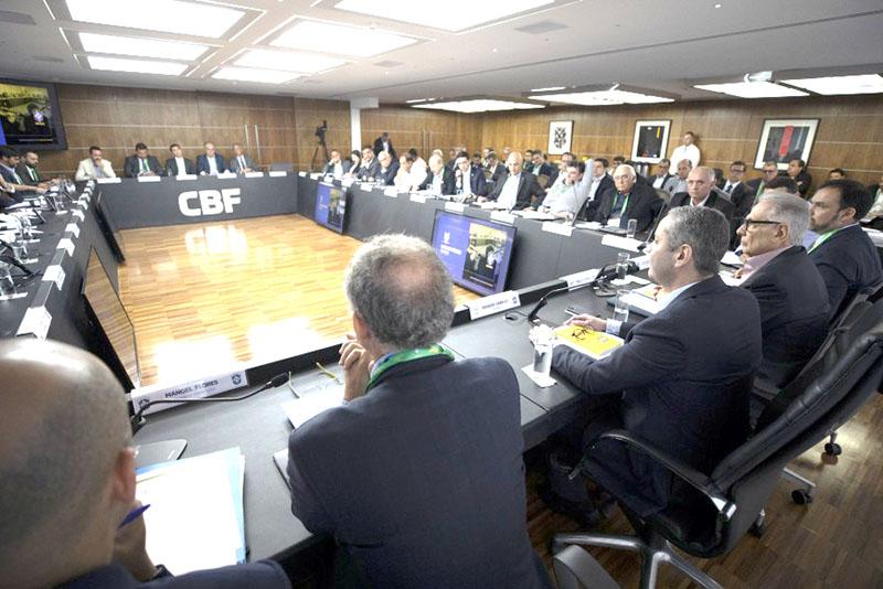 A Tribuna Futebol Cbf Divulga Tabela De Jogos Do Brasileirao Serie A 2020